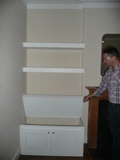 chunky shelves 